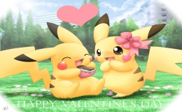 Pikachu tình yêu