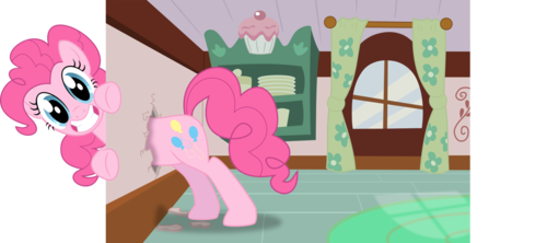 Pinkie Breaks the Fourth دیوار again...