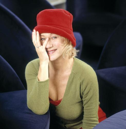 Piros kalapos Photoshoot