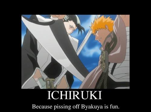 Pissing Byakuya off