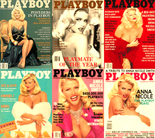 Anna Nicole Smith wallpaper entitled Playboy Covers