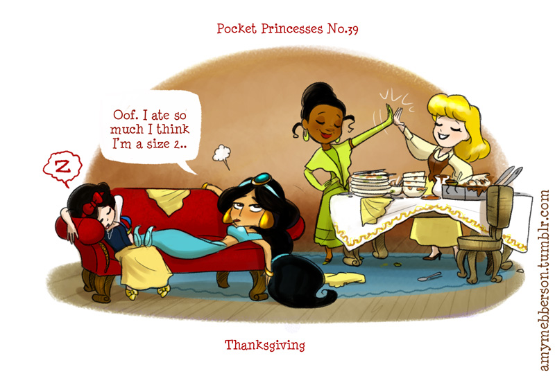 disney princess happy thanksgiving pictures