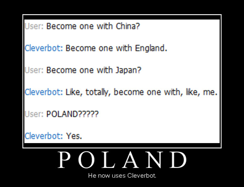 Poland and Cleverbot