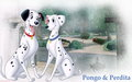 Pongo and Perdita - 101-dalmatians wallpaper