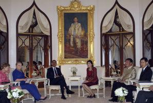 President Obama In Myamar