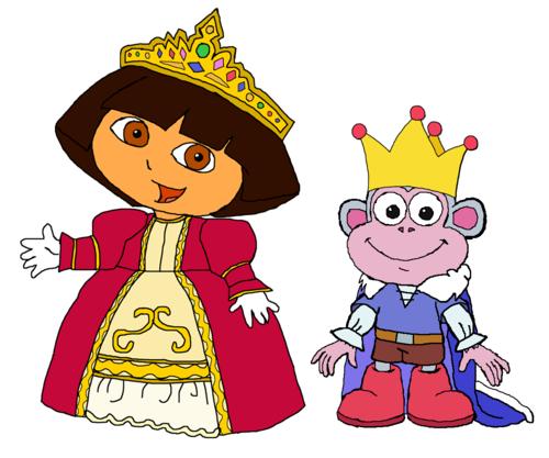 Dora the explorer images princess dora and prince boots hd wallpaper and background photos - Princesse dora ...
