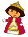 Princess Dora - dora-the-explorer fan art