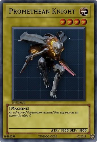 Promethean Knight Yu-Gi-Oh! card