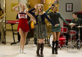 Quinn, Santana and Brittany season 4