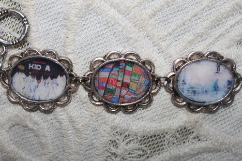 RADIOHEAD Album Covers bracelet