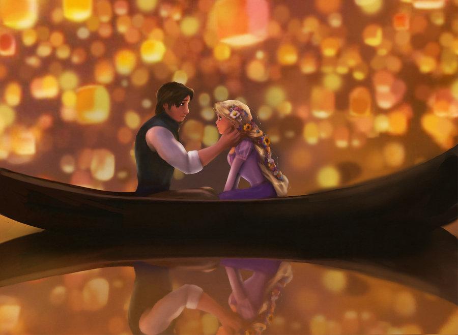 Rapunzel and Flynn - Tangled Fan Art (32807975) - Fanpop