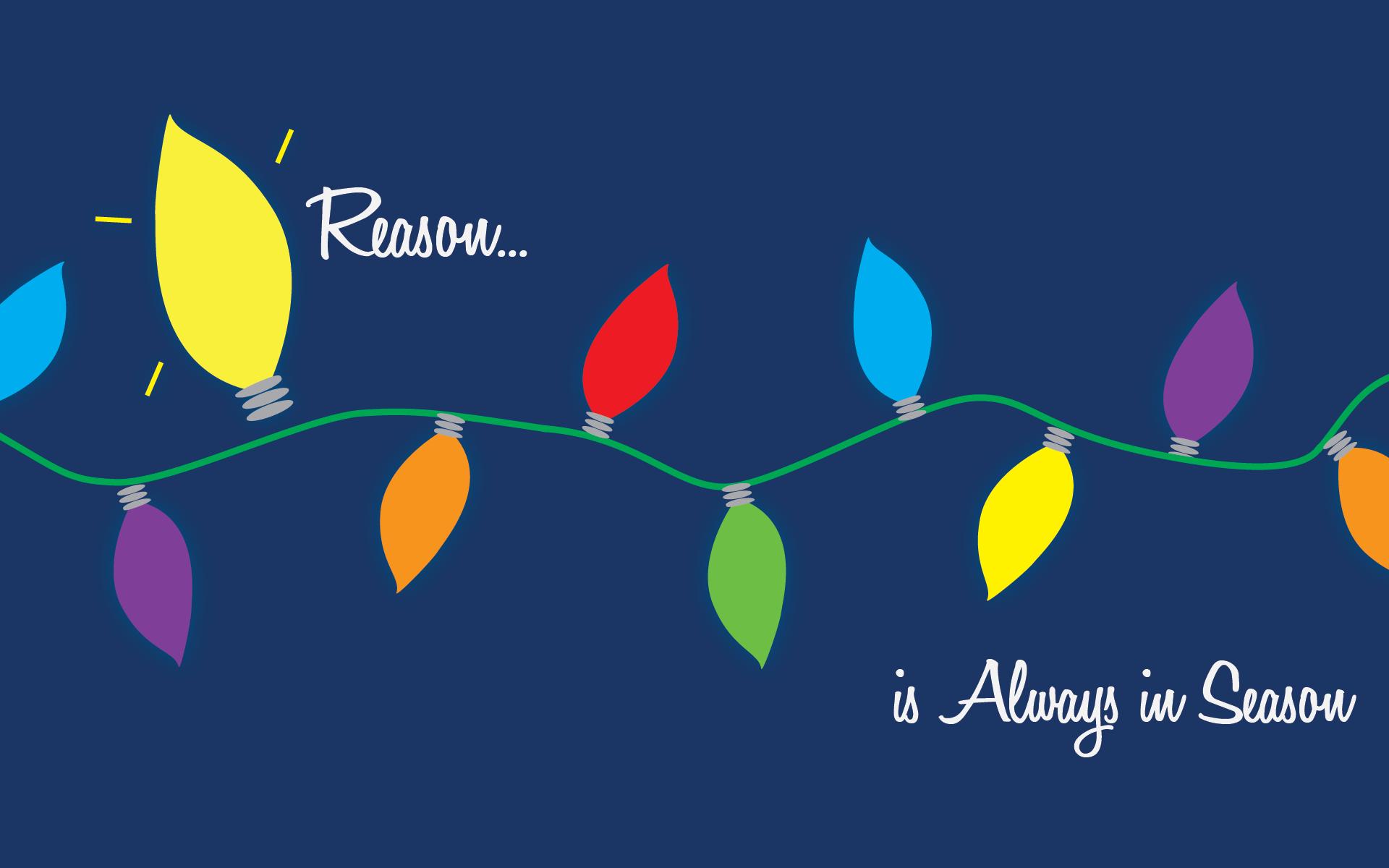 Jesus Is The Reason Christmas Lights