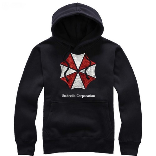 Resident Evil Umbralle corporation pullover hoodie