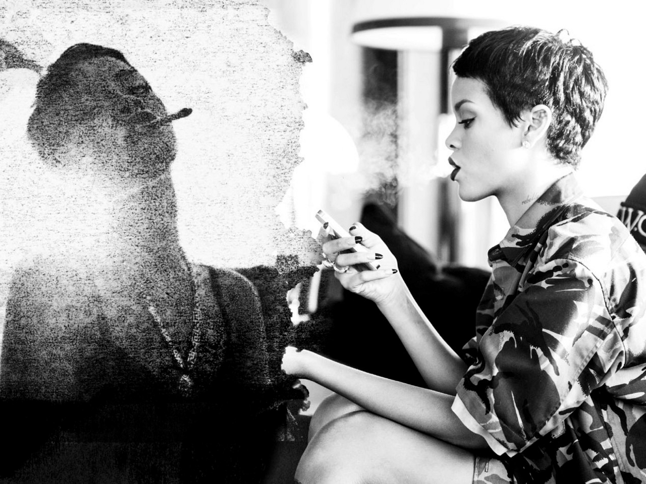 Rihanna Unapologetic - Rihanna Wallpaper (32896090) - Fanpop
