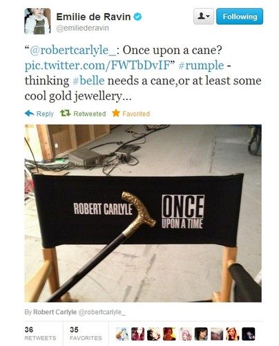 Once Upon A Time wallpaper called Robert & Emilie on Twitter