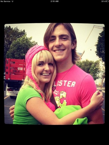 Rydel and Rocky