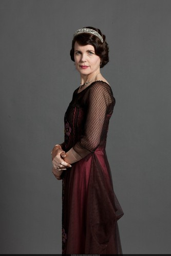 Downton Abbey wallpaper probably containing a dinner dress, a cocktail dress, and a garment titled S3 Promo Pic