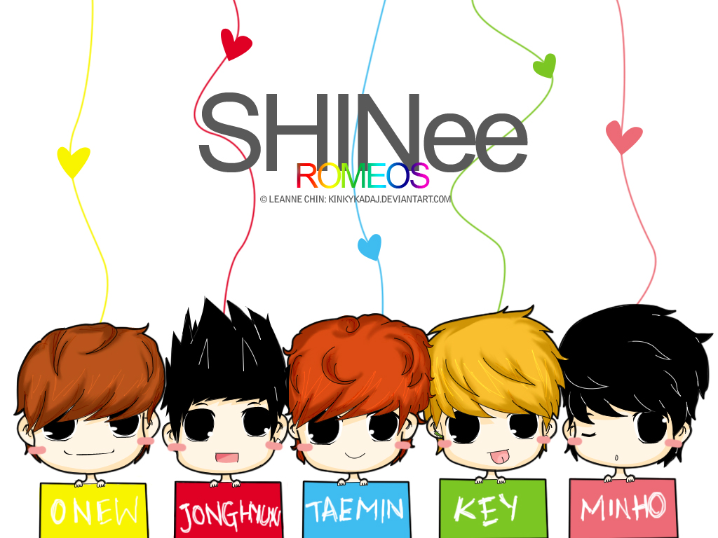 nima9 images shinee chibi hd wallpaper and background