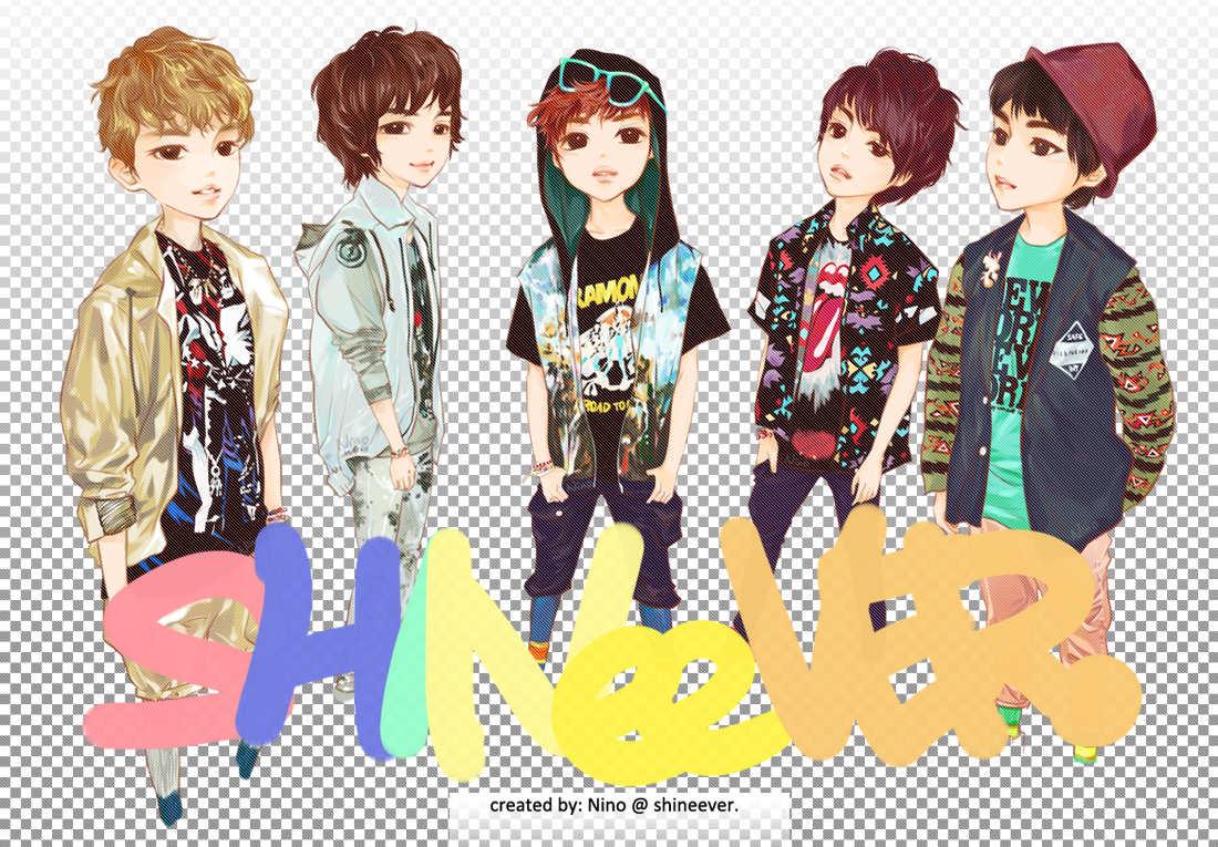 shinee chibi nima9 fan art 32844796 fanpop