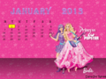 SImple Fan Calendar - barbie-the-princess-and-the-popstar fan art