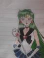 Sailor Plut - sailor-moon fan art