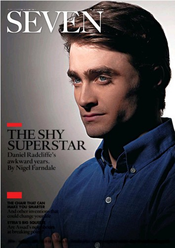 Seven magazine - daniel-radcliffe Photo