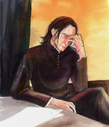 Severus Snape fã Art