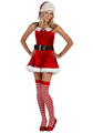 Sexy Mrs Claus Women Christmas Costume
