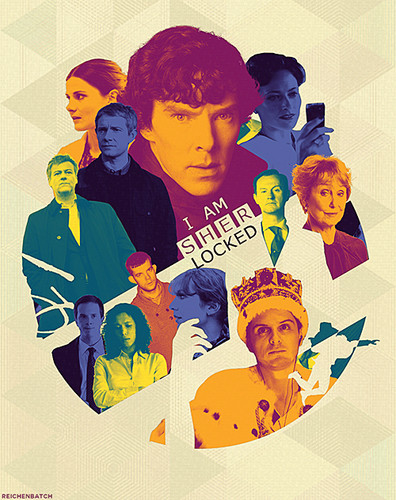 Sherlock in der BBC Hintergrund possibly containing Anime called Sherlock