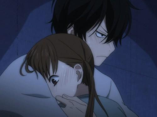 Shizuku x Haru Hug