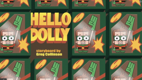 "Sidekick: ""Hello Dolly"" عنوان card"