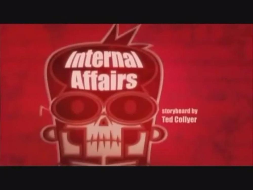 "Sidekick: ""Internal affairs"" tiêu đề card"