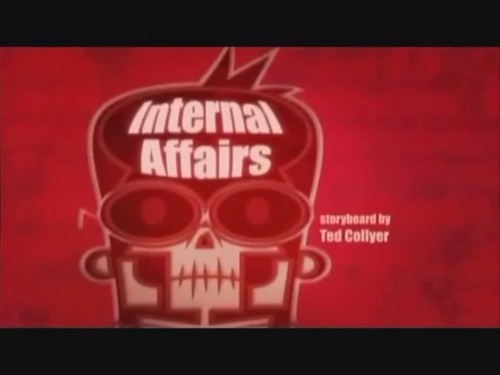 "Sidekick: ""Internal affairs"" 标题 card"