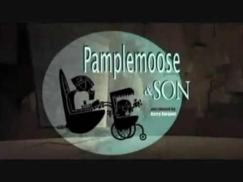 "Sidekick: ""Pamplemoose & son"" título card"