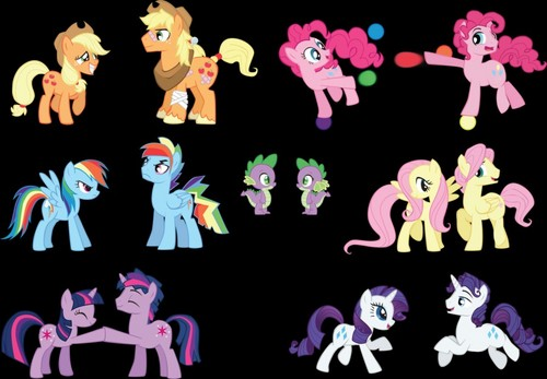 Some images of ponies