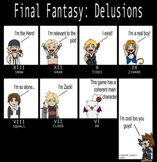 kingdom hearts and final fantasy images some memes part2 wallpaper