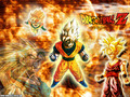 Son Goku family - dragon-ball-z wallpaper