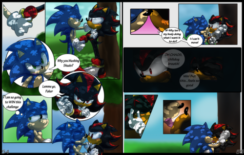 青黑(sonadow) Comic~