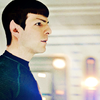 Star Trek (2009) photo probably containing tights, a leotard, and a legging entitled Spock