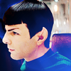 Star Trek (2009) photo containing a portrait entitled Spock