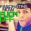 Star Trek (2009) photo probably with a portrait entitled Spock