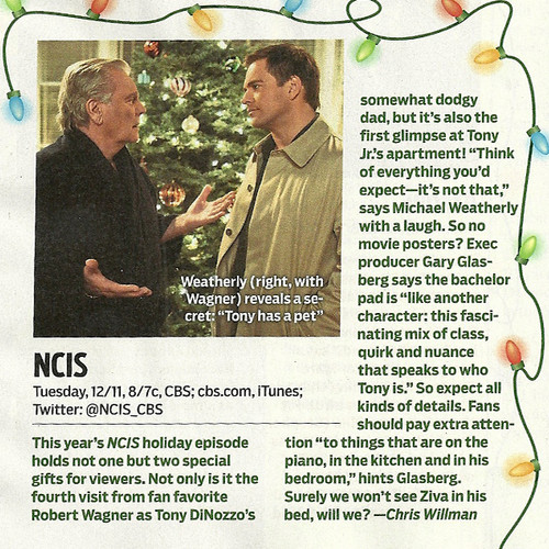 Spoilers for the holiday episode 由 TVGuide