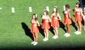 Stanford cheerleaders