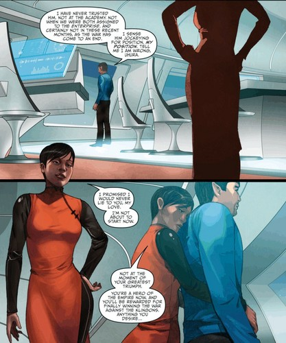 ster Trek Ongoing #15 (Spoilers)