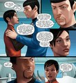 Star Trek Ongoing #15 (Spoilers) - spock-and-uhura photo