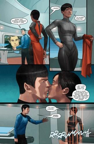 星, つ星 Trek Ongoing #15 (Spoilers)