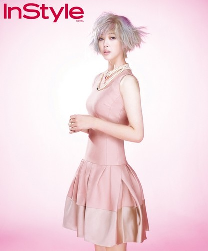 Sulli for instyle magazine
