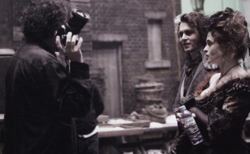 Johnny Depp Imágenes Sweeney Todd Book Hd Fondo De Pantalla