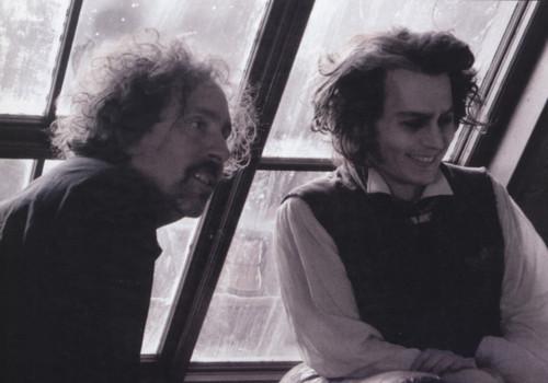 Johnny Depp wallpaper entitled Sweeney Todd book