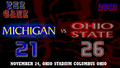 THE GAME 2012 MICHIGAN 21 VS. OHIO STATE 26 - ohio-state-football wallpaper